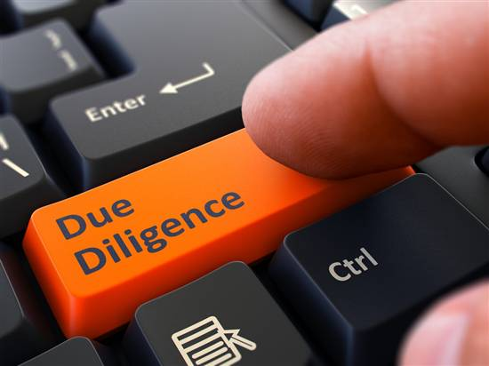 Due diligence of the enterprise
