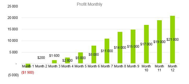 Senior Daycare Business Plan Example - Profit Monthly