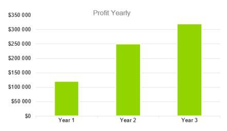 Profit Yearly - Photography Business Plan Template