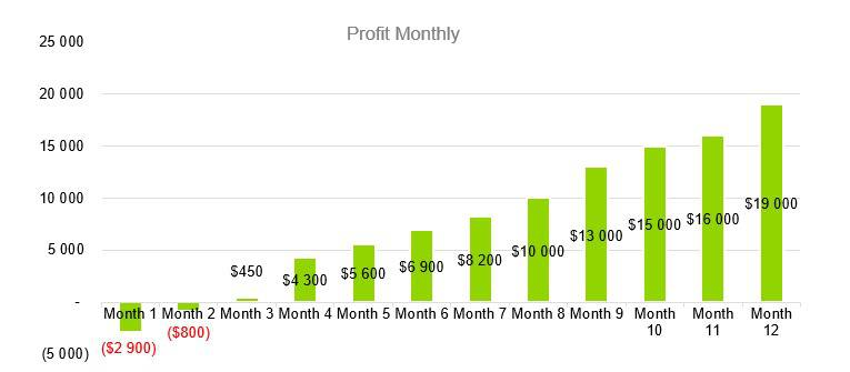 Profit Monthly - Computer Repair Business Plan