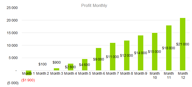 Technology Business Plan - Profit Monthly