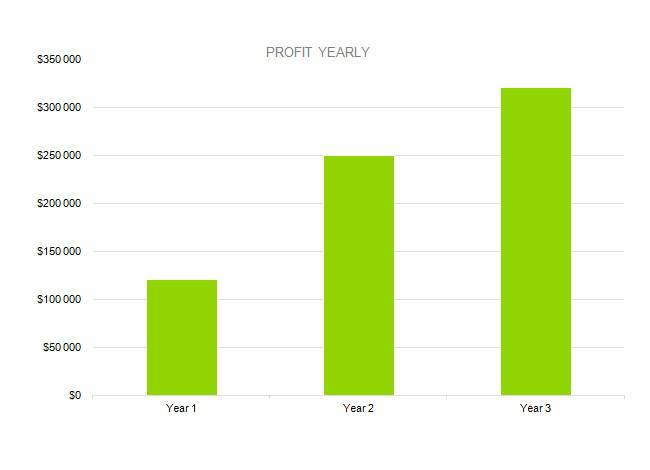 PROFIT YEARLY - Baby Clothes Business Plan Sample