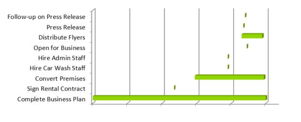 Graphic Design Business Plan - Milestones