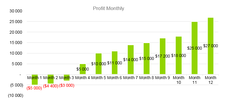 Drone Business Plan - Profit Monthly