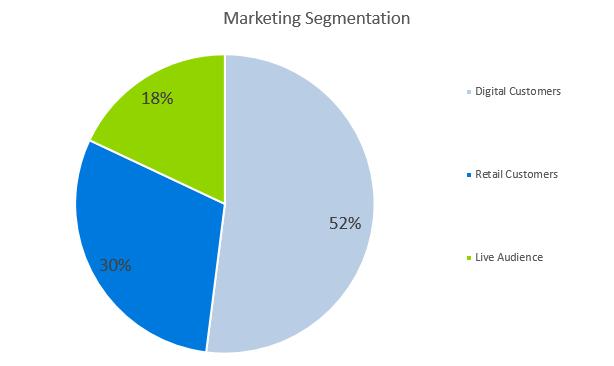 Record Label Business Plan - Marketing Segmentation