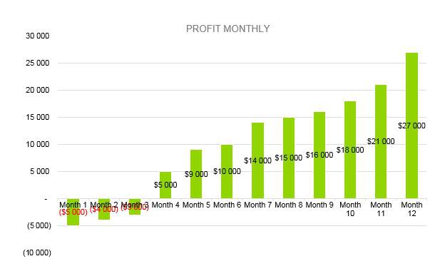 Shaved Ice Business Plan - Profit Monthly
