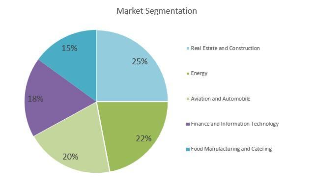 Holding Company Business Plan - Market Segmentation