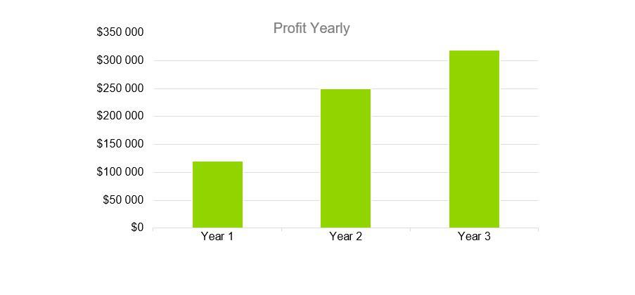 Profit Yearly - Music Business Plans