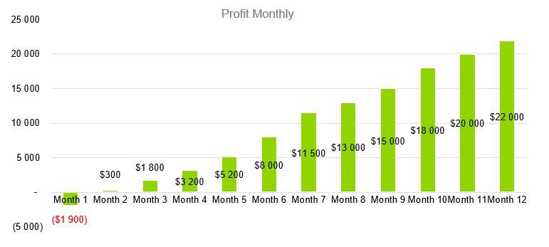 Computer Software Business Plan Sample - Profit Monthly