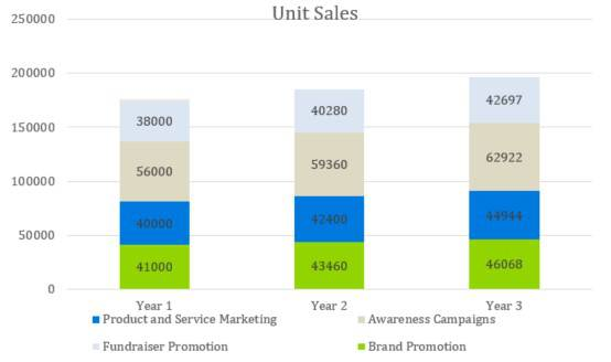 Unit Sales - Digital Marketing Agency Business Plan Template